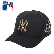 MLB棒球帽2016春季新款金線標NY洋基隊LA道奇隊男女鴨舌帽遮陽帽