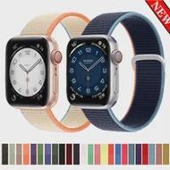 สายคล้องคอไนลอนสำหรับ Apple Watch Band 40มม.44มม.42มม.38มม.Iwatch 6 Se 5นาฬิกาสร้อยข้อมือสำหรับ Applewatch Band Series 6 Se 5 3