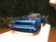 1/18 AUTOart Dodge Challenger SRT Demon Blue 71747【MGM】