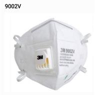 3M 9002V P1折疊式防塵口罩/呼氣閥