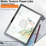 [MALAYSIA]Microsoft Surface Go 2 Matte Tempered Glass Hardness 9H Surface Go 2 Surface Pen Friendly Paper-Like Glass
