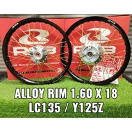 ALLOY RIM SRL/LC135/LC5S/125Z 1.60 X 18 (RCB/STRONGER) COMPLATE SET