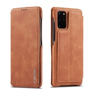 Samsung Case A 71 A 51 Flip Cover Stand Cover Card Invisible Magnetic