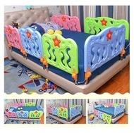 最新款床護欄(大90CM) 真正安全環保床護欄 兒童安全床護欄嬰兒安全床圍欄 可折疊寶寶互動安全床圍欄 單片可選大小