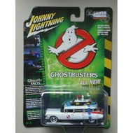"""JOHNNY LIGHTNING 1/64 1959 Cadillac Ghostbusters """"Project Pre-Ecto"""
