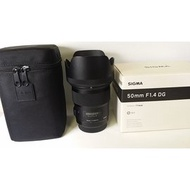 Sigma 50mm F1.4 DG HSM art for Canon 9成新 [50325290]