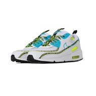 Nike Air Max 90 SE Worldwide CZ6419-100 White Mens Airmax Running Shoes Sneakers