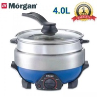 MORGAN MMC-3400A Multi Cooker With Steamer (4.0L) Stainless Steel Inner Pot