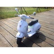 【鉅珀】偉士牌Vespa電動摩托車(也有鋰鐵電池版本)  12v雙馬達 內建音樂 USB SD卡可外接MP3及調音量