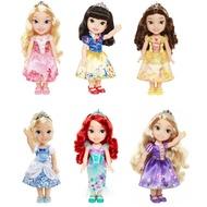 jakks 迪士尼公主娃娃 - 愛麗兒 貝兒 仙杜瑞拉 樂佩 睡美人 白雪公主