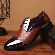 รองเท้าผู้ชายในช่วงฤดูร้อนปี 2020 คนใหม่ของรองเท้าหนังผู้ชายขนาดใหญ่ของรองเท้าลำลองรองเท้าผู้ชายธุรกิจรองเท้าแต่งงานอย่างเป็นทางการ รองเท้าหนังชาย คัทชูผู้ชาย รองเท้าคัชชู ผช