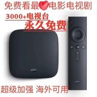 可貨到付款!小米盒子3代3c3s增強版海外越獄國際版網絡機頂盒高清4k電視wifi