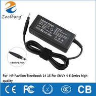 For HP Pavilion 14 15 Series Sleekbook  19.5v 3.33a 65w ENVY 4 6 Power Supply Charger Adapter
