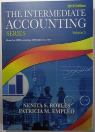 THE INTERMEDIATE ACCOUNTING VOL. 3 BY Robles