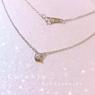 現貨💝silver 925純銀單鑽項鍊 精品品牌 鑽石項鍊 單鑽 百搭Tiffany風格 白金 鍍金 日系