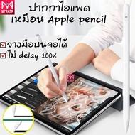 [ปากกา ipad] ปากกาสำหรับiPadพร้อมปากกาสไตลัส ปากกาไอแพด วางมือ+แรเงาได้ Apple Pencil stylus ipad gen7,8 2019 applepencil 10.2 9.7 2019 Air4 Pro 11 2020