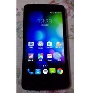台哥大TWM Amazing X3s四核心 5吋 4G LTE 智慧型手機,安卓5.1,功能都正常,只賣1200元