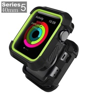 EverToner Cover For Apple Watch SE Case 40mm 44mm, Shock Proof Bumper Cover Scratch Resistant Protective Rugged Case for Apple Series 5 4