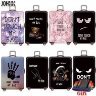 Johnnตัวป้องกันกระเป๋าเดินทาง,ผ้าคลุมกันฝุ่นสำหรับกระเป๋าล้อลากขนาด18-20-22-24-26-28-30-32ผ้ายืด