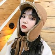 遮耳帽 毛帽 毛毛 帽子 可愛 耳罩 護耳 雷鋒帽 飛行員 造型 保暖 韓國 聖誕節 跨年 ANNA S.