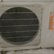 中古二手1對2分離式冷氣日菱RKM-1010B,ROULIN冷氣1噸×2含標準安裝
