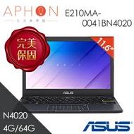 【Aphon生活美學館】ASUS E210MA-0041BN4020 夢想藍 11.6吋 N4020/4G/64G/Win10 S 筆電 -送無線鼠(款式隨機)