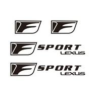 【重磅超質感】包郵LEXUS精品系列F標剎車卡鉗貼紙 LEXUS-F標 耐高溫剎車卡鉗貼紙