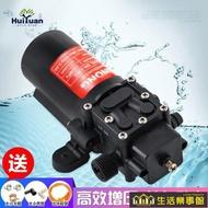 徽源12v水泵電動噴霧器水泵電機小馬達配件高壓自吸泵隔膜泵