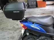 後行李箱架 Suzuki Address Z Address V125G 台灣製造 摩斯達精品【老虎摩配】