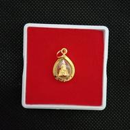 **ลดล้างสต็อก3วันสุดท้าย (ราคาปกติ199) : *จี้หลวงพ่อโสธร จี้ทองคำ จี้พระ จี้ห้อยคอ ชุบทองคำแท้96.5% ทองไมครอน ทองชุบ เศษทอง ทองปลอม หุ้มทอง