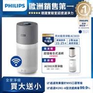 【飛利浦 PHILIPS】奈米級濾淨★奈米級空氣清淨機 AC3033/83