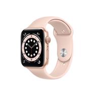 Apple Watch SE GPS 44mm/金色鋁金屬錶殼/粉沙色運動錶帶*MYDR2TA/A
