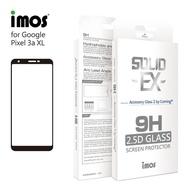 【iMos】Google Pixel 3a XL(2.5D 滿版玻璃 螢幕保護貼)