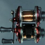小巧精緻帶線冰釣輪藍色 漁輪捲線器力魯漁輪路亞輪海釣船釣磯釣灘釣竿遠投捲線器 釣魚用具