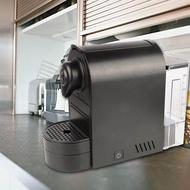 【ราคาถูกสุด】Capsule Coffee Machine แบบพกพาสีดำเครื่องกาแฟแบบแคปซูลกาแฟเอสเปรสโซ่เครื่องทำ