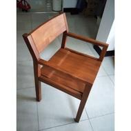 詩肯柚木扶手椅 21008
