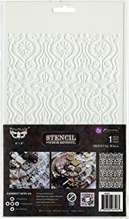 PRIMA MARKETING INC Elementals Stenc 6X9 W, Oriental Wall, One Size