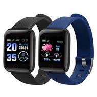 smart watch ~smart watch waterproof~ 116 Plus Smart Bracelet Waterproof Smart Watch Fitness Tracker Watch Blood Pressure