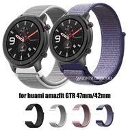 Amazfit GTR錶帶  Amazfit GTR 47mm Amazfit 42mm 尼龍錶帶 Amazfit手錶帶