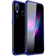 พร้อมส่ง Case Realme 3 Pro เคสเรียวมี3pro เคสนิ่ม TPU เคสใสขอบสี สินค้ามาใหม่ สีดำ สีแดง สีนำเงิน เคส Realme 3Pro realme 3 pro สวยและบาง