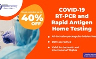 Metro Manila COVID-19 RT-PCR and Rapid Antigen Testing [HOME AND WALK IN TEST]