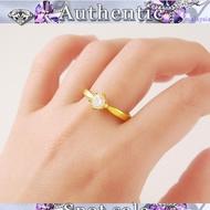 Fashion Ring Gold Chrysanthemum 916 Ready stock