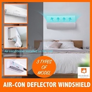 Latest Air Conditioner Shield Cold Wind Deflector Windshield| Aircon Deflector