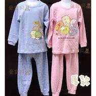現貨🔸童寶貝🧸★ 100%純棉 ★台灣製造 ㊣版授權 角落小夥伴 角落生物 厚款 長袖套裝 居家服 睡衣