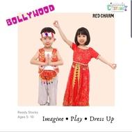 Local Seller Kids Indian Costume Traditional Belly Dancing Bollywood Deepavali Diwali School Racial Harmony Ethnic