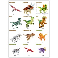 Kids toys MOC Dinosaurs jurassic park toys model Dragon Classic Ancient Collection Action Figures compatible lego