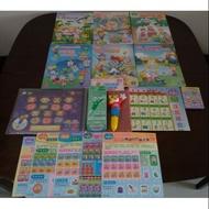 近新 巧連智 巧虎 學習版 大班 巧虎點讀筆✚點讀書✚點讀海報✚猜謎卡✚挑戰卡