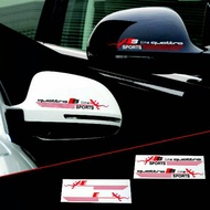 Cutting sticker rear view mirror stickers for all cars