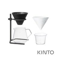【日本KINTO】SCS鑄.職人手冲咖啡四件組《WUZ屋子》咖啡下壺 濾杯 手沖架