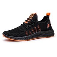 ผู้ชาย BASIC รองเท้าวิ่งรองเท้าวิ่งแบบเบาสบายน้ำหนักมาราธอน Breathable รองเท้ากีฬา